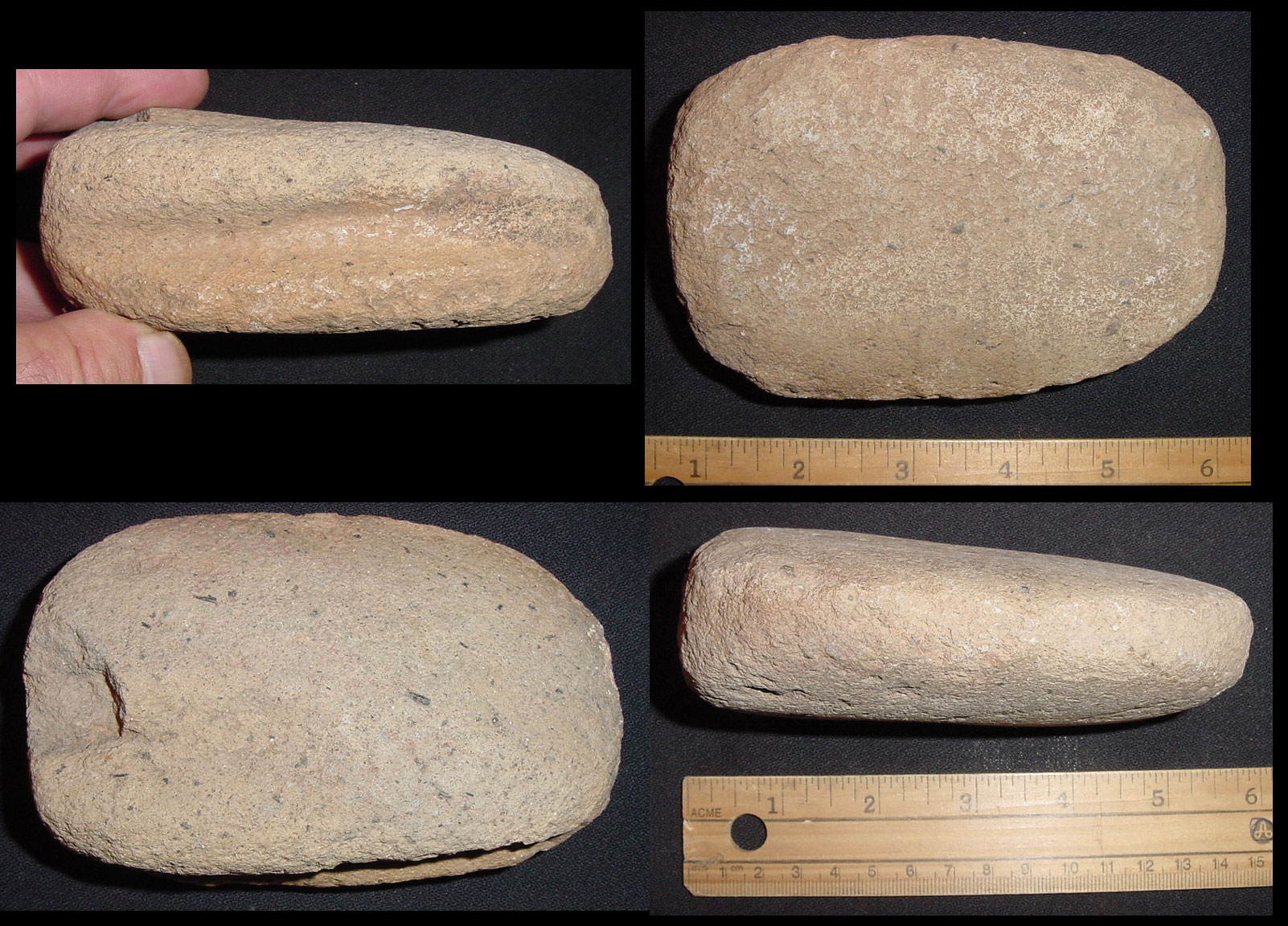 Metate and mano collection on eBay!